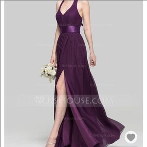 Vera Wang bridesmaid dress size 8 Amethyst